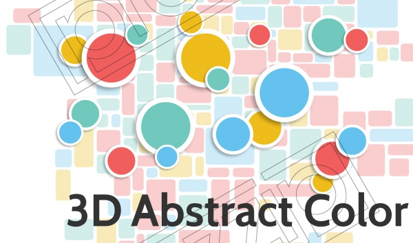 3D Abstract Color